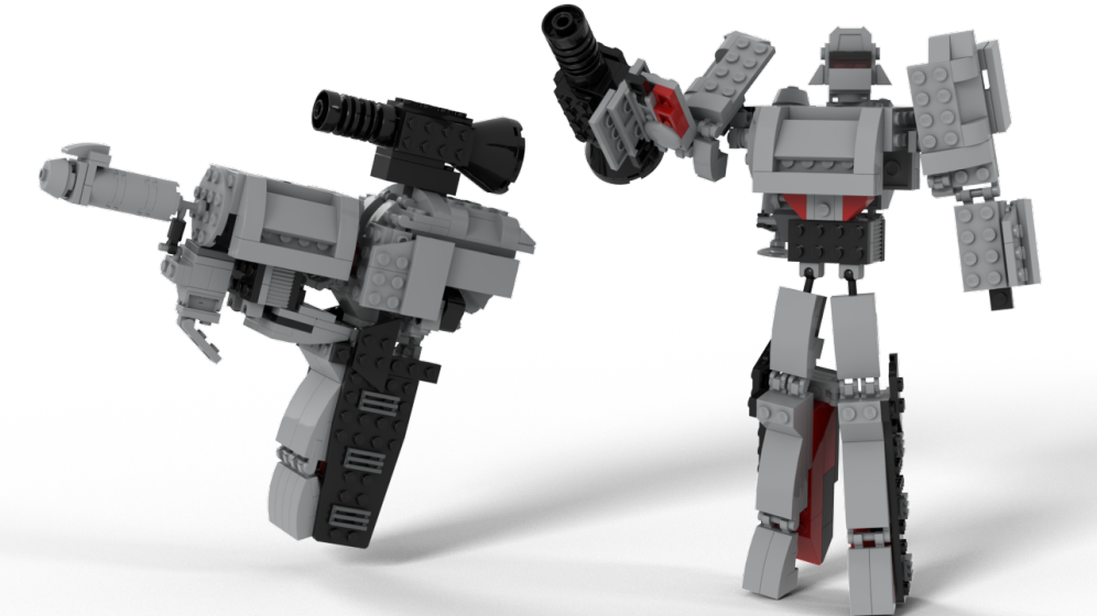 Customs de LeaderOptimus : le côté Lego - Page 4 Rendu_Megatron_studio_2