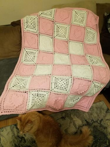 Reenie 01's Knitting Projects Heartblanket1