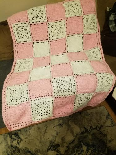 Reenie 01's Knitting Projects Heartblanketback41