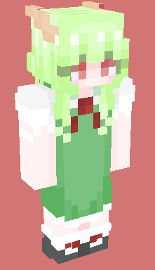 Kamishirasawa Keine Minecraft Skin