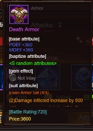 lvl60 armor