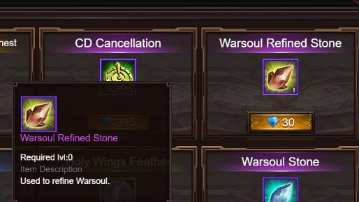 warsoul price