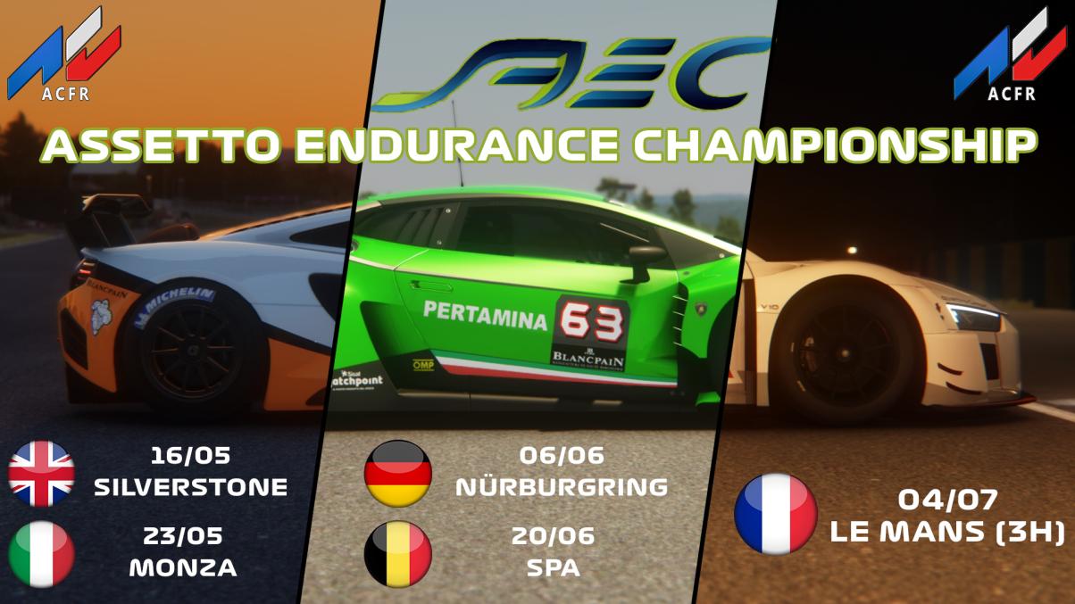 [AEC]Assetto Endurance Championship AEC
