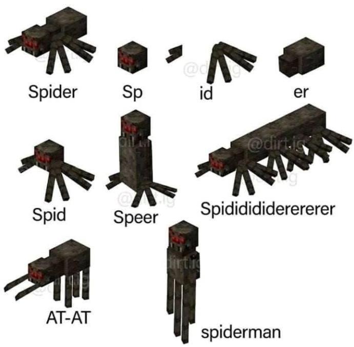 Cursed Spiders