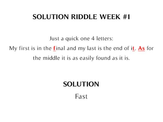 The Icehouse Weekly Riddles SPOILER_solution_week_1