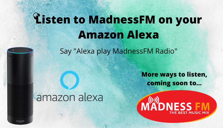 Listen to us on Amazon Alexa
