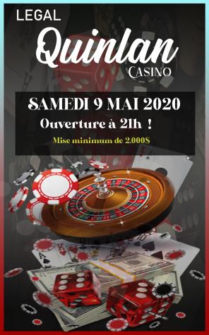 Légan Quinlan Casino - Soirée le 9 Mai à 21h00 ! Unknown