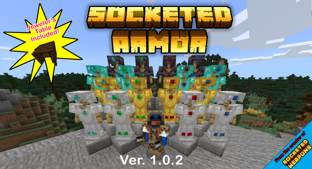 Socketed Armor Minecraft Mod
