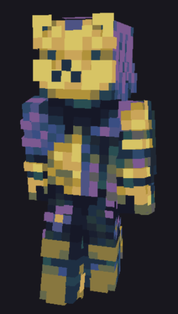 Contest Entry - Stomping on Flowers Minecraft Skin