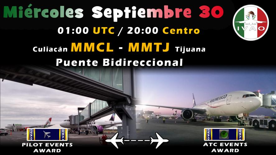 [MX] Culiacan - Tijuana Bidirectional Airbridge