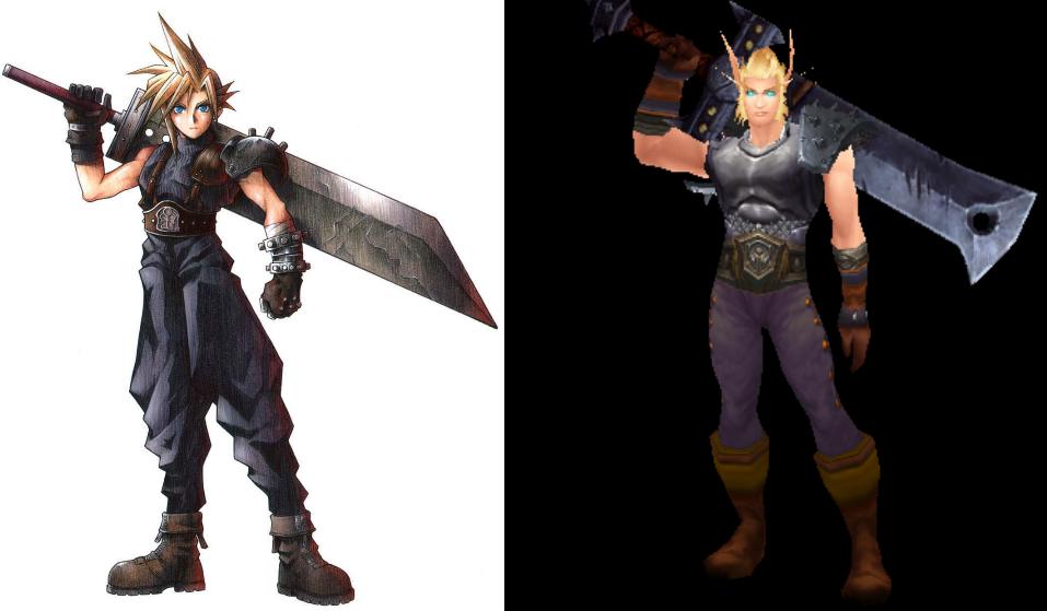 Cloudd - Cloud Strife (Final Fantasy VII)