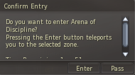 Arena Ticket Feature (New) Unknown