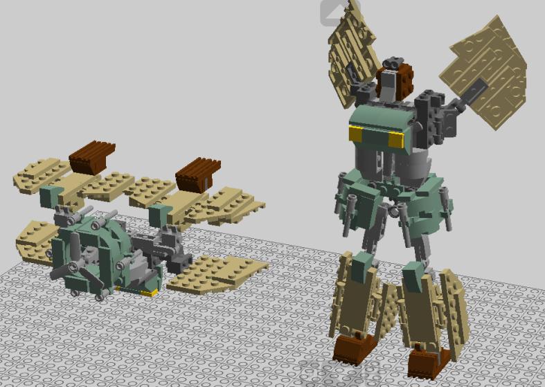Customs de LeaderOptimus : le côté Lego - Page 7 Unknown