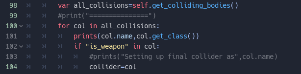 All collisions iteration