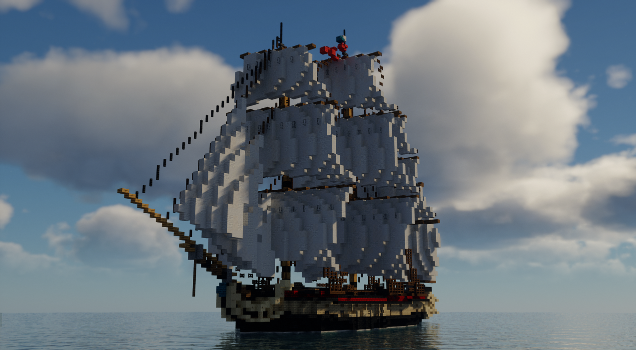 The Inconocible - Imperial Frigate [Records of Sailors] Minecraft Map