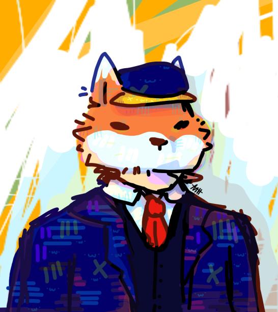 sf - top fox Minecraft Skin