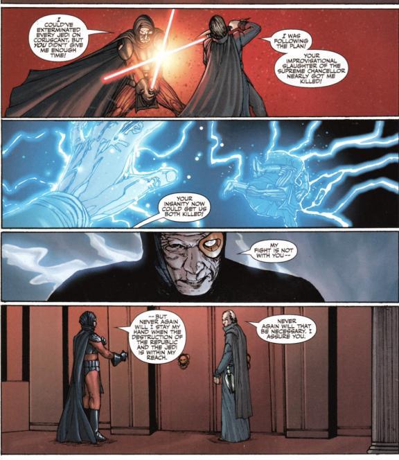 Stomper Showdown R2 #1 - Darth Angral (Darth Plagueis the Wise) VS ROTJ! Mara Jade (LT Page) IMG_3949