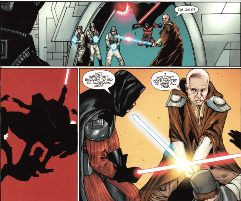 Stomper Showdown R2 #1 - Darth Angral (Darth Plagueis the Wise) VS ROTJ! Mara Jade (LT Page) IMG_3947