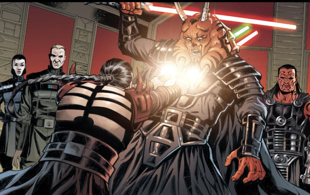 Stomper Showdown R4 #2 - Darth Angral (Darth Plagueis the Wise) vs K'kruhk (AaylaSecuraFan) Image2