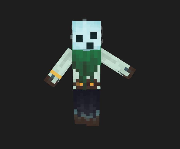 Soul Forager Minecraft Skin