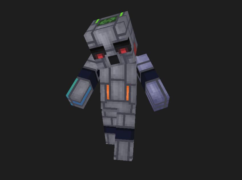 Bot-fallande Minecraft Skin