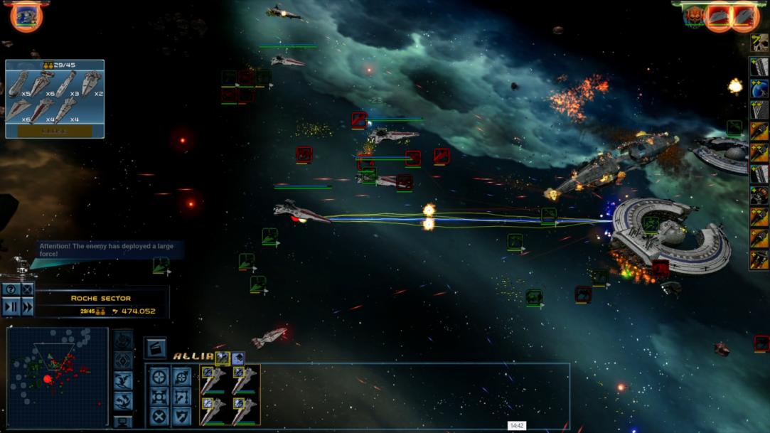 Star Wars Empire at War – FOC Alliance – New Fleet reinforces system