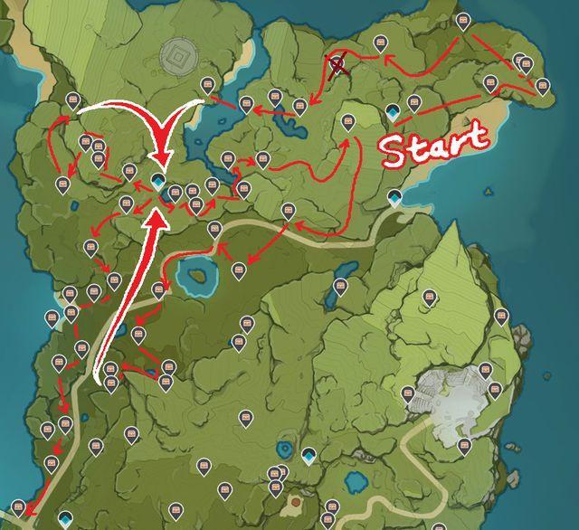 Камень истока Genshin Impact как фармить быстро и где получить