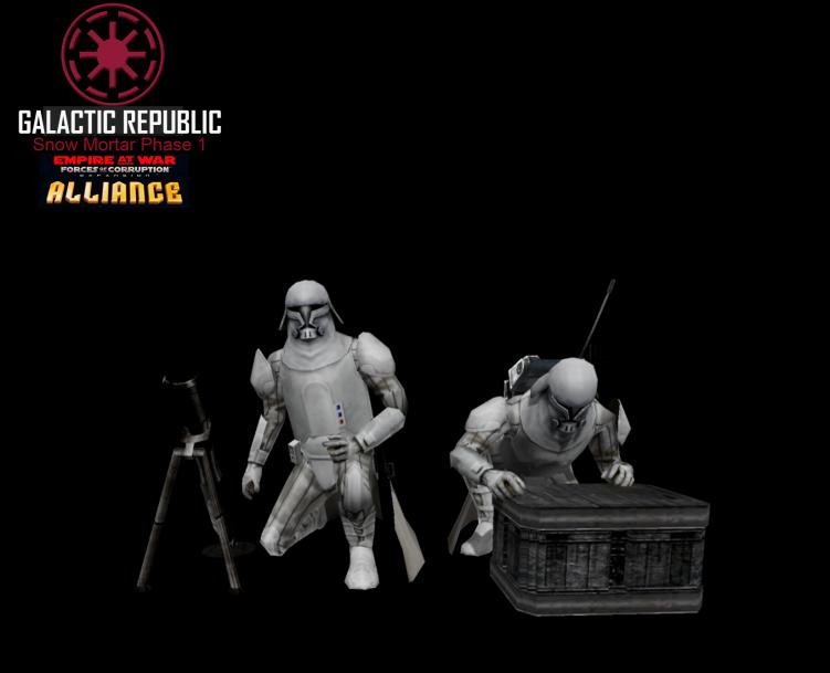 Star Wars Empire at War – FOC Alliance – Mortar teams