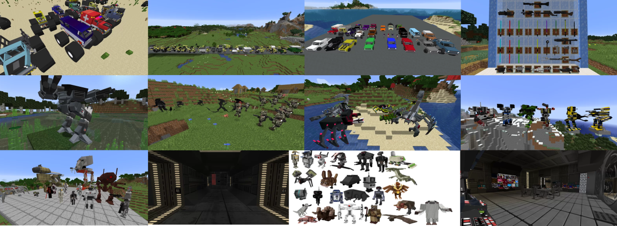 Chronokillers1.16.5-1.15.2 car and trucks PLUS mod Minecraft Mod