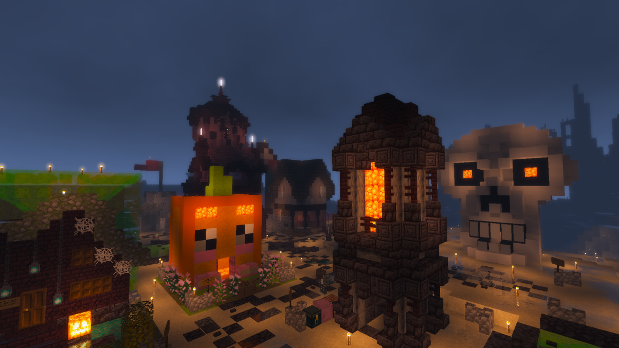 Trick-or-Treat Houses