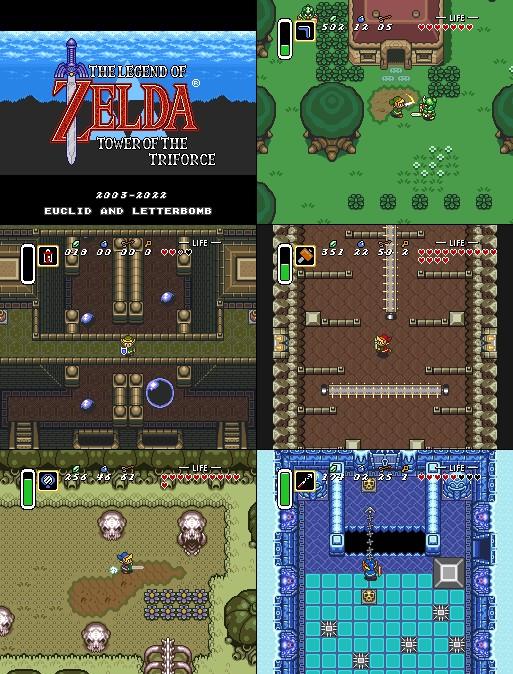 The Legend of Zelda - Tower of The Triforce Screenshots