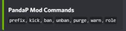 Mod Commands