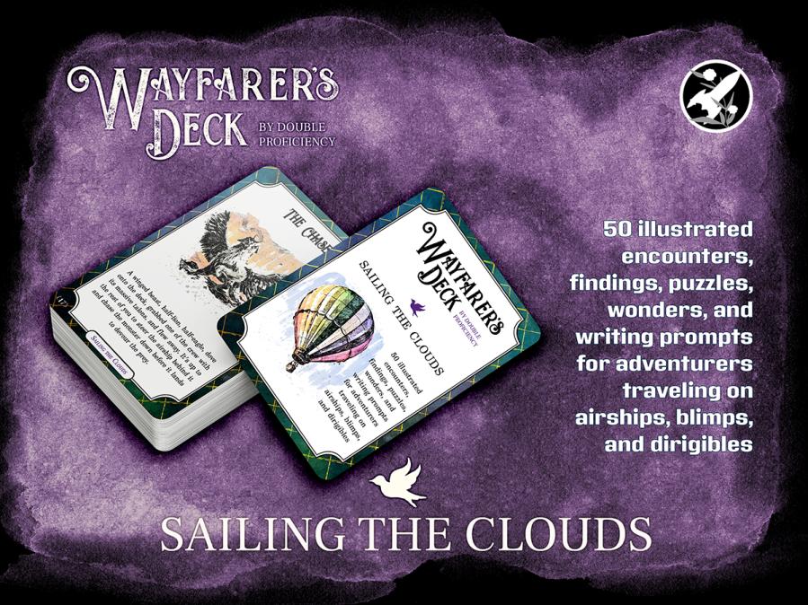 Wayfarer's Deck: Sailing the Clouds