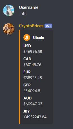 CryptoPrices Showcase 1