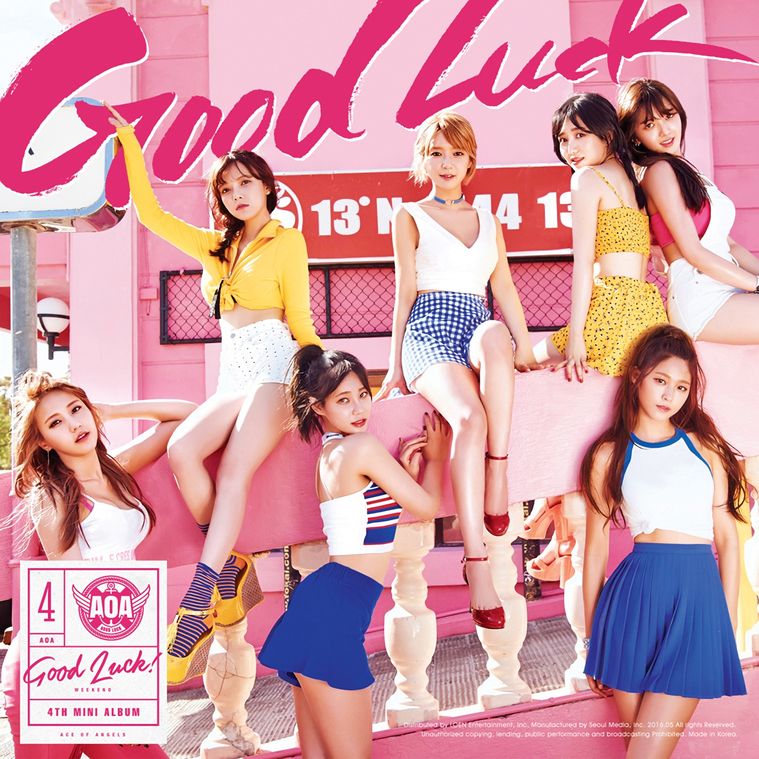 Good Luck - Ace Of Angels (AOA)