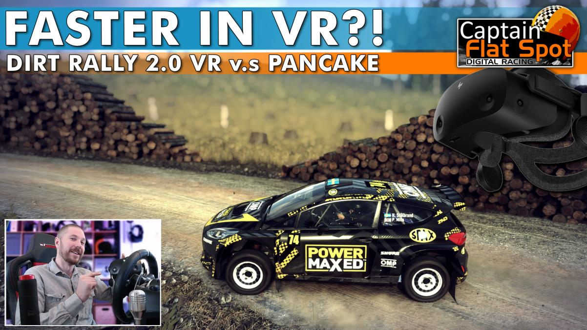 Does VR make you Faster in Sim Racing?