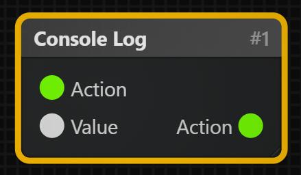 Console Log Block