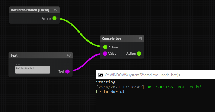 Console Log Example