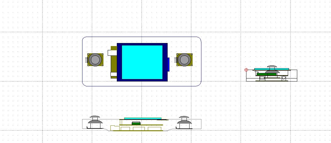 Plan 2D télécommande