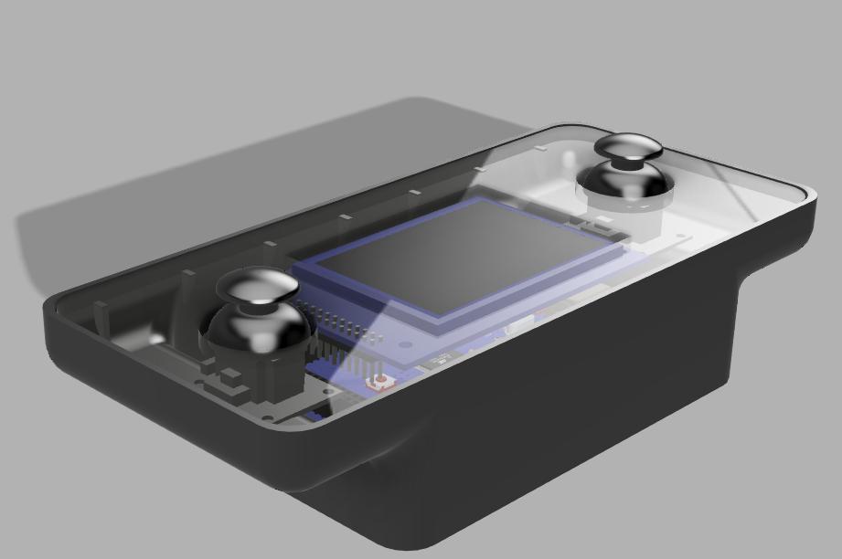 Modélisation 3D de la télécommande finie