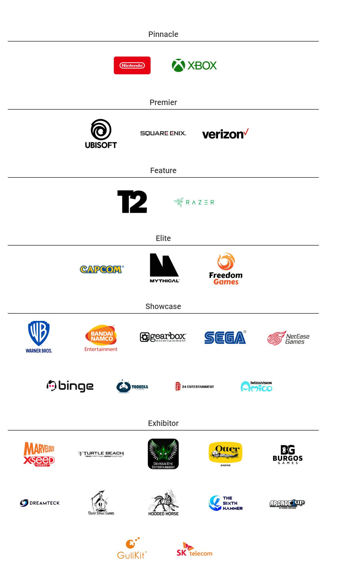 Sponsors del E3
