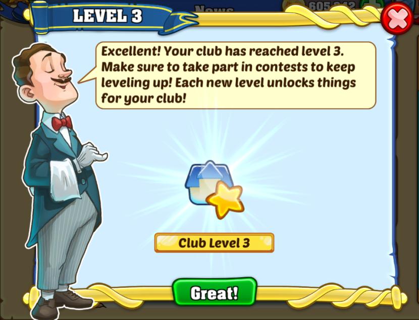 level 3 club