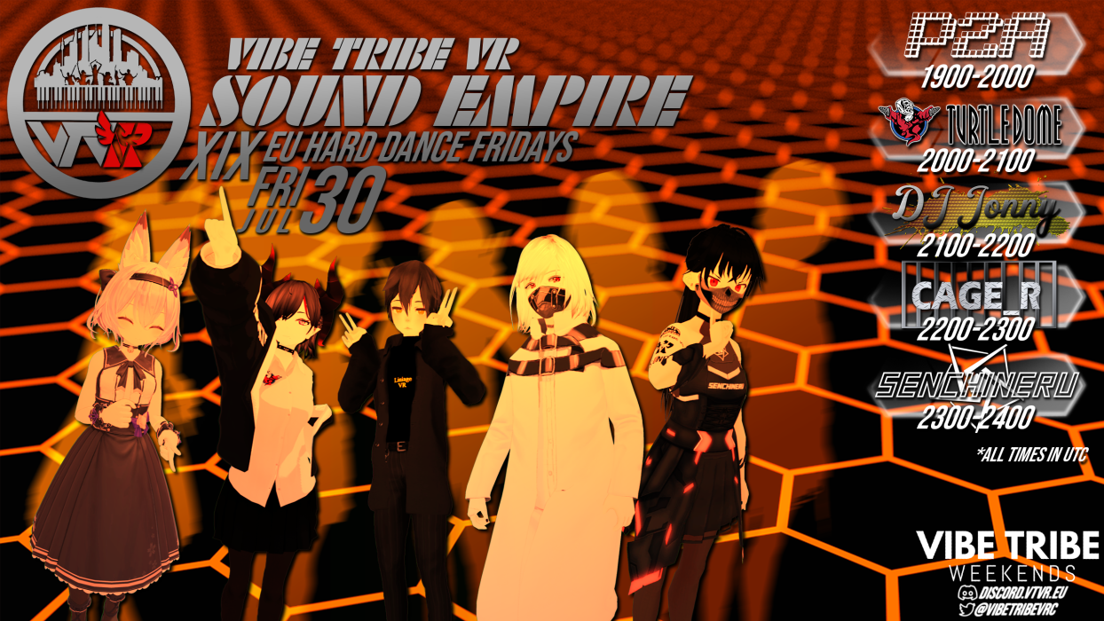 Flyer for VTVR: Sound Empire 19