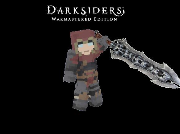The Horseman of War | Darksiders Minecraft Skin