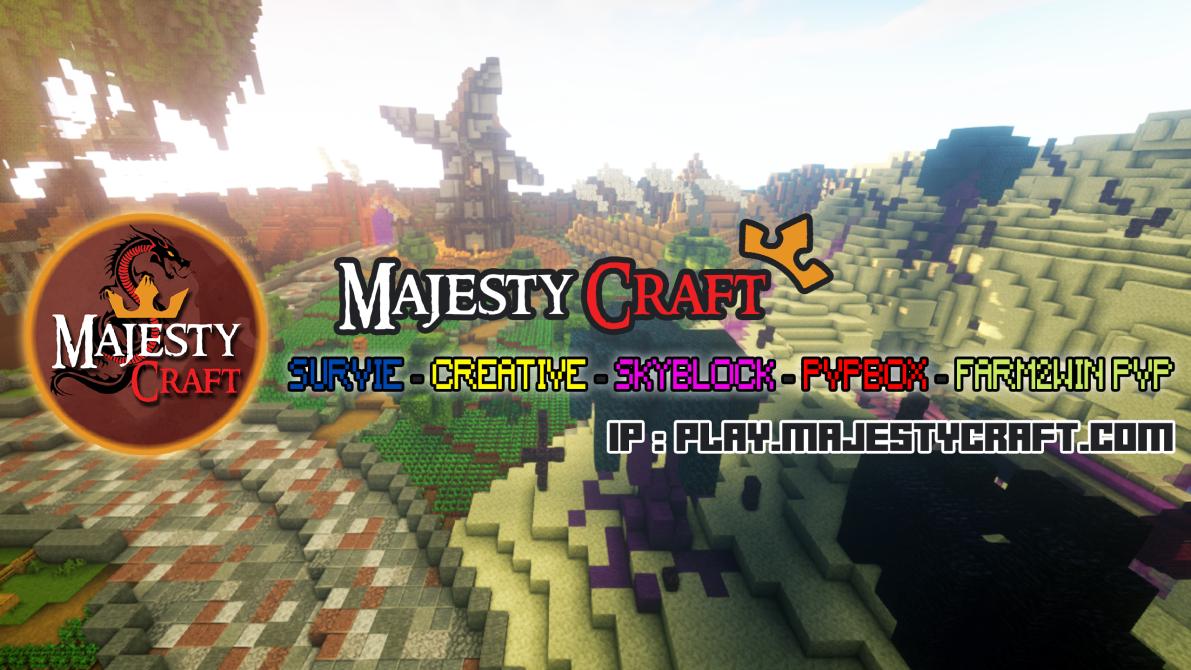 Serveur Minecraft MajestyCraft