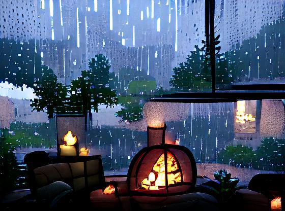 I love when it rains. So cozy.