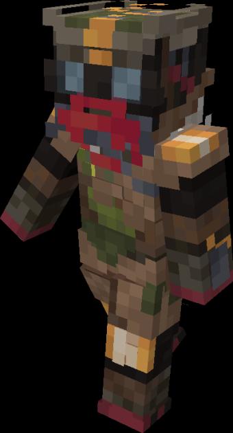 Bloodhound   Apex Legends Minecraft Skin