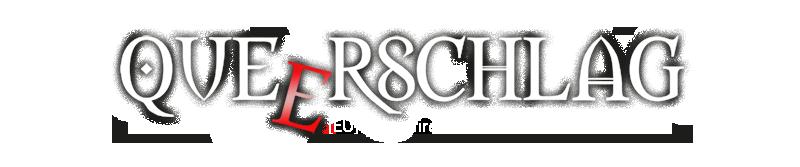 Queerschlag Banner-Logo