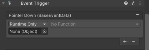 Dúvida sobre modificação do Event Trigger por scritpt Unknown