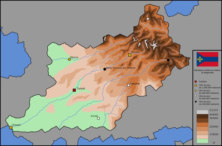 Cartographie du Magermelk
